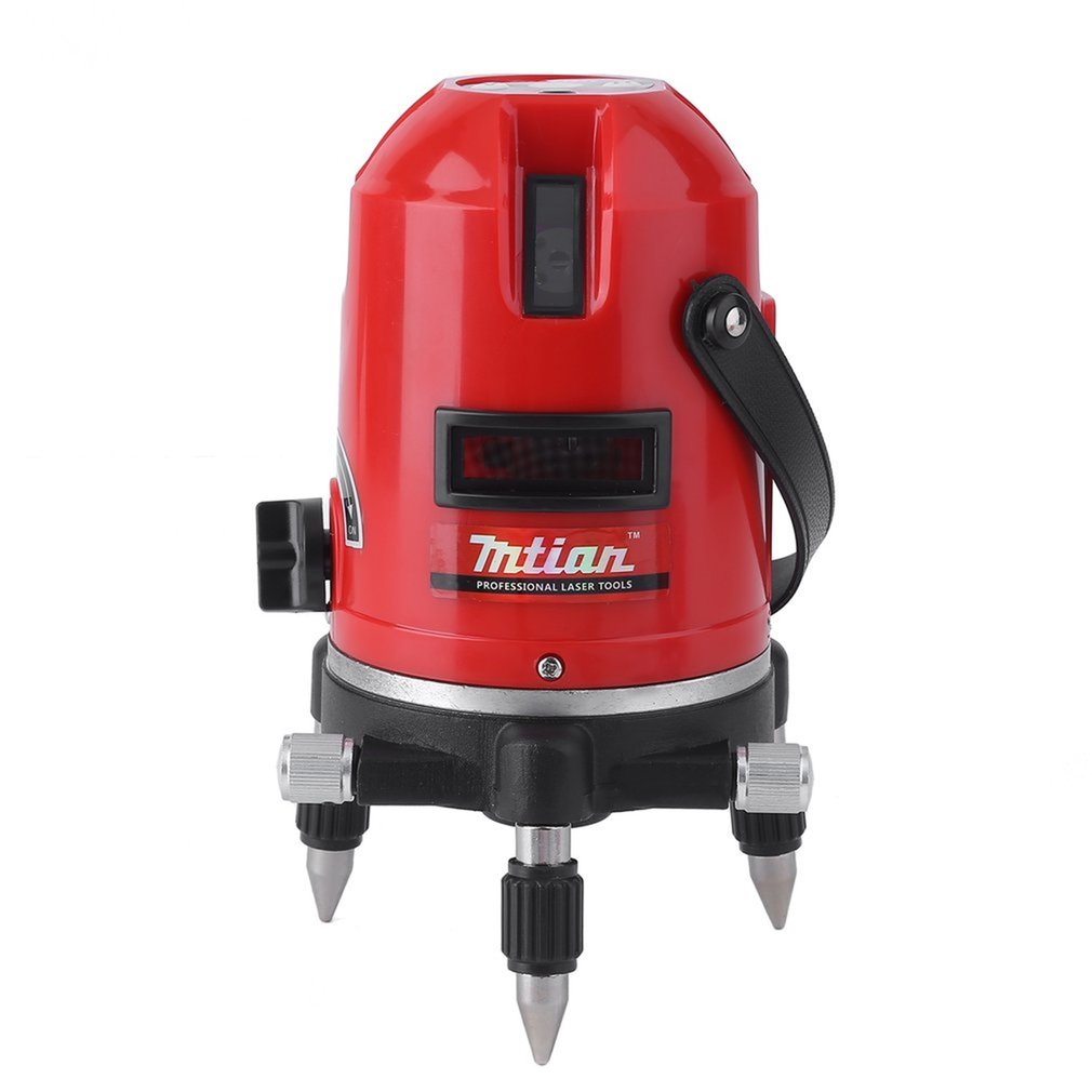 5 Lines 6 Points Automatic Level Laser Instrument 360 Self Rotary Tilt Function 635nm Corss Line Lazer Level Measuring Tool New fivepears laser level tools 5 lines 6 points level tilt function 360 rotary self lleveling outdoor eu 635nm green corss line