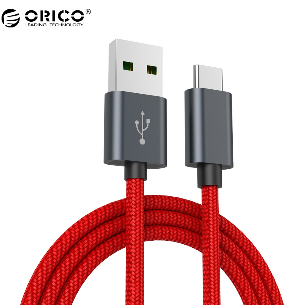 ORICO 5A USB Type C Cable KAC Data And Charging Cable Type C USB Charger For Xiaomi Huawei