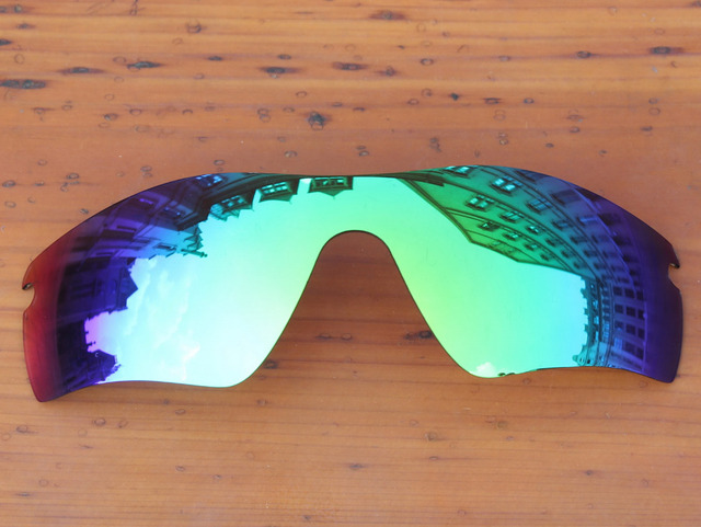 Emerald Green Mirror Polarized Replacement Lenses For Radar Path Sunglasses Frame 100% UVA & UVB Protection
