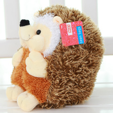 40cm new plush  toy  lovely hedgehog pillow stuffed aniaml Valentine's day gift