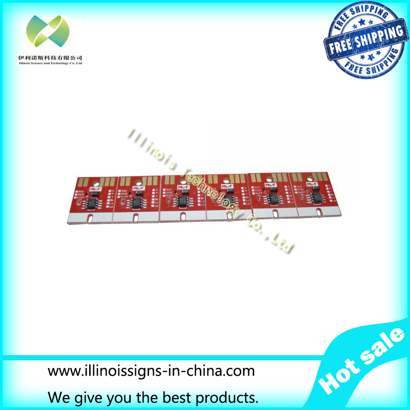 ФОТО Chip Permanent for Mimaki JV33 BS3 Cartridge 6 colors/set CMYKLCLM
