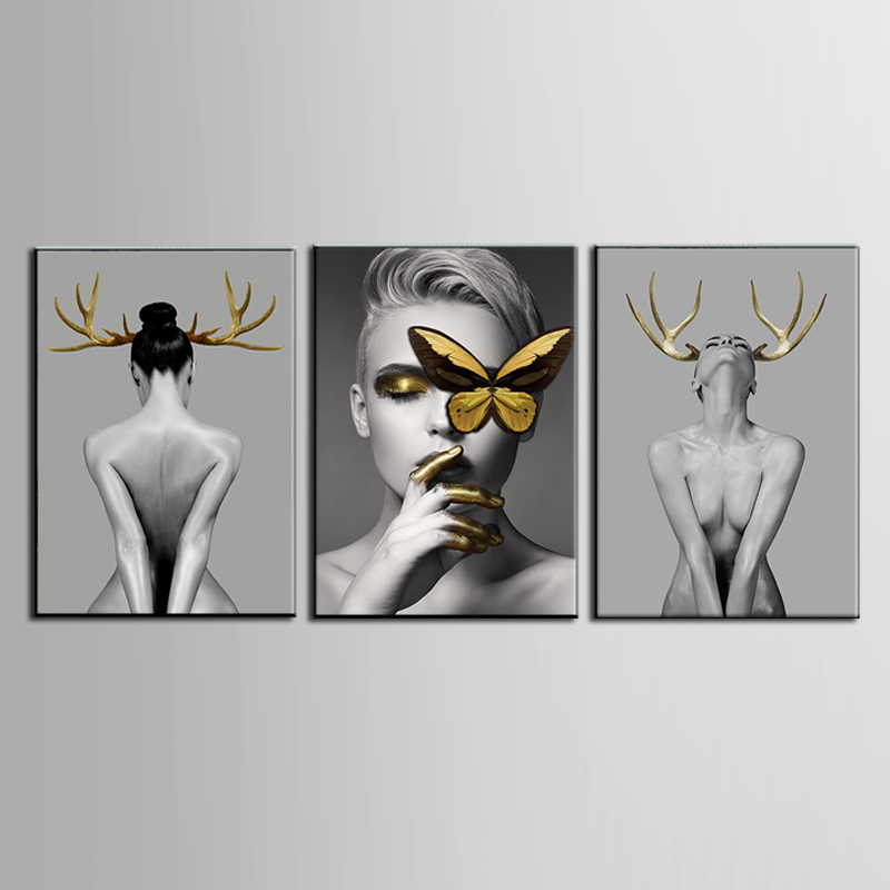 Modern abstract series Painting Canvas Wall Art Picture Home Decoration Living Room Canvas Print Modern Painting ART261