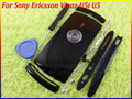 Черный цвет новые оригинальные полный крышку корпуса чехол + кнопки + открыть инструмента для Sony Ericsson Vivaz U5 U5i