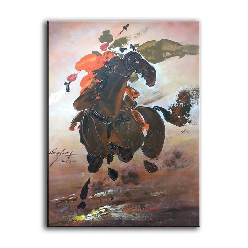 Нож рисунок картины украшение картины на заказ Оригинальный Картина маслом честность лояльности Hero китайский стиль 17122501