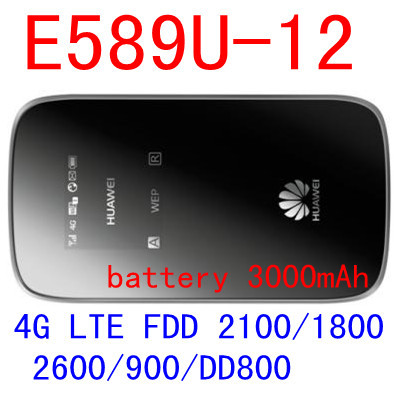 HUAWEI 4g wifi router E589 3g 4g mifi router e589-12 Mobile wifi Hotspot lte wifi dongle pk r212 e5573 e5577 E5377 E5372 unlocked huawei e5573 4g wifi router pocket mifi router wifi 4g lte dongle mobile hotspot mini 3g 4g wifi router sim card slot