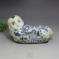Free shipping antique porcelain handmade handmade porcelain doll home accessories