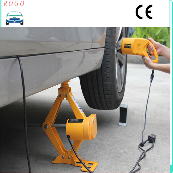automotive electric scissor car jack lift van garage 125mm420mm 25 ton 12v