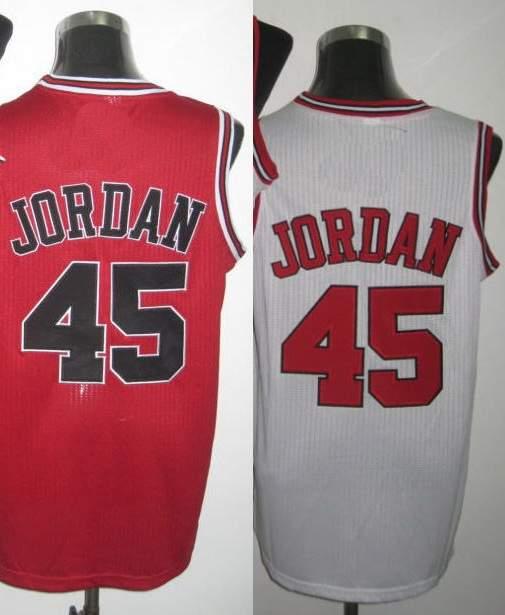 jordan 45 basketball jersey