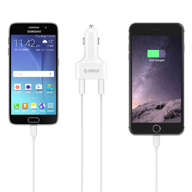 4 Port USB Car Charger for Your Phone Tablet