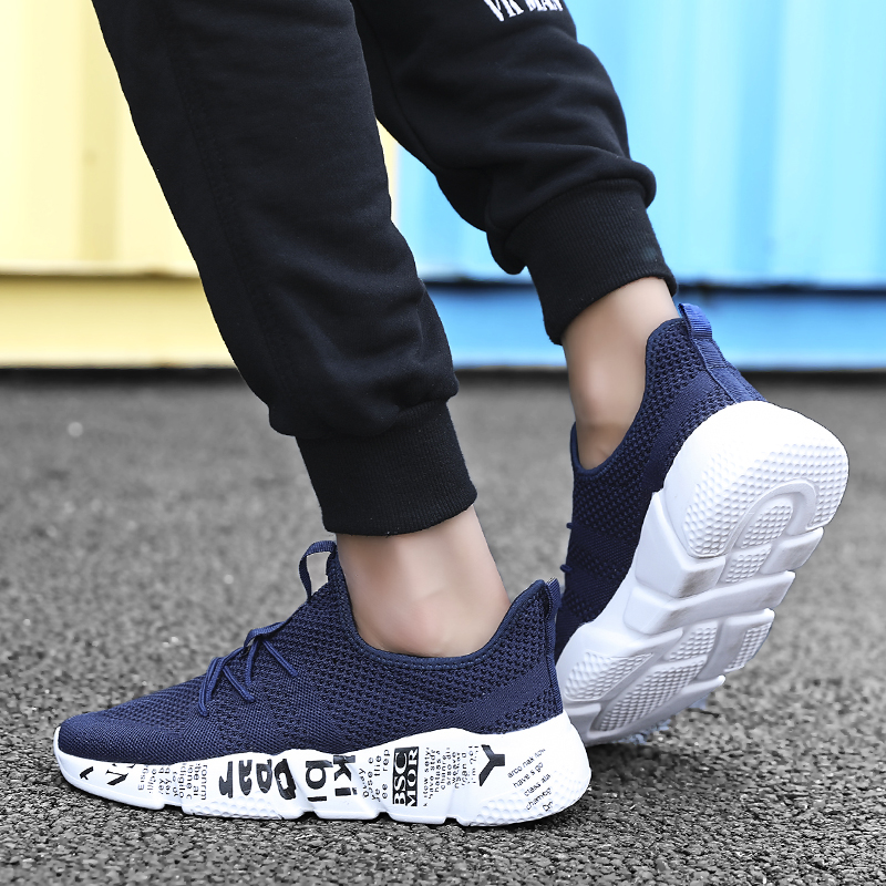 2019 New Men Casual Shoes Breathable Fashion Sneakers Man Shoes Masculino Shoesshoes Male Brand Zapatillas Deportivas Size 39-47 5