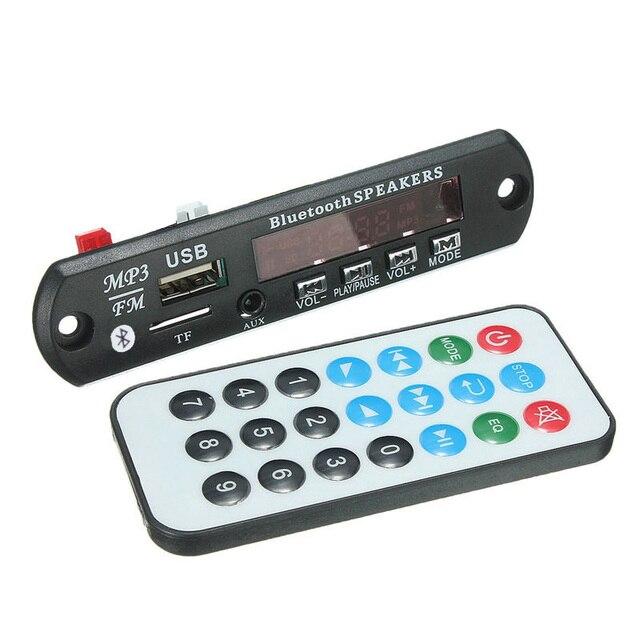 Bluetooth v3.0 + EDR Аудио Модуль MP3 WMA Плеер MP3 декодер совета Модуль ж/TF Слот Для Карты/USB/FM/пульт дистанционного управления дисплей
