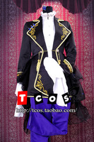 Cosplay Vocaloid Gakupo Costume Unisex Evening Dress Gown Rode Tuxedo
