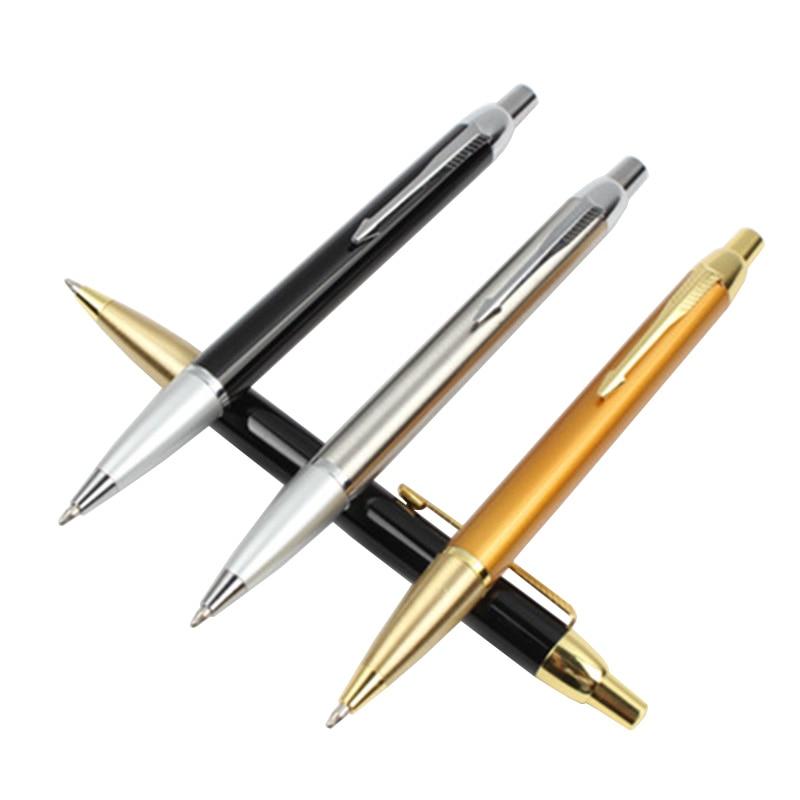 1PCS/LOT GENKKY New Arrival Ballpoint Pen Commercial metal ballpoint pen gift pen core solventborne automatic ballpoint pen