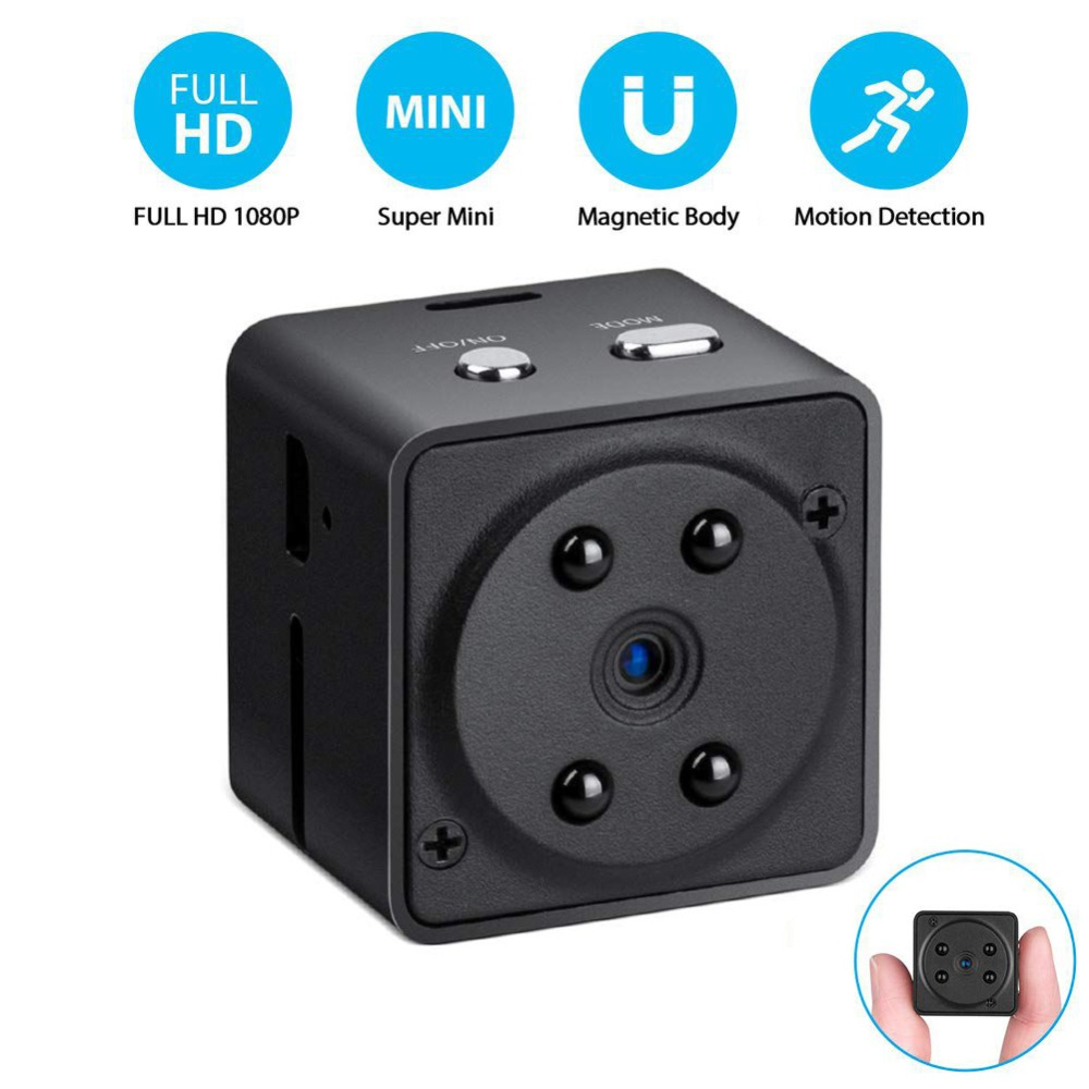 Small Camcorder 1080P High Definition Motion Detection multi functional handheld Camcorders Video Recorder Camera(China)