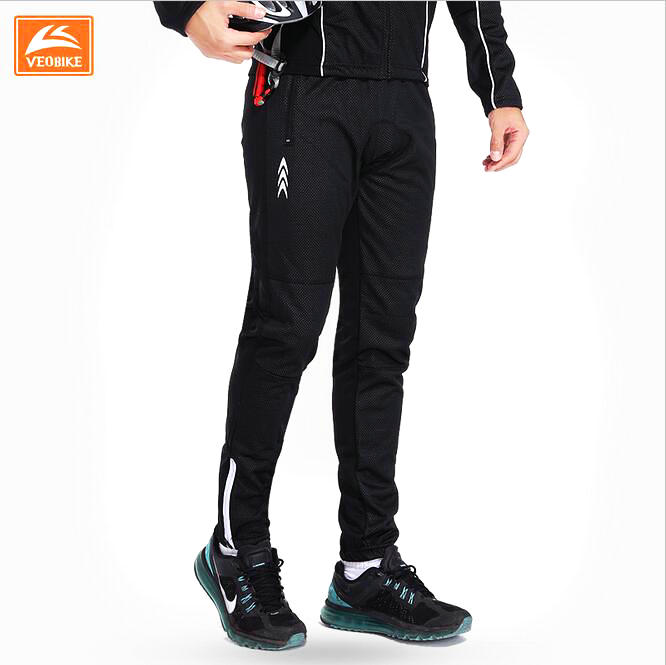 VEOBIKE 2018 Autumn Winter windproof waterproof keep Warm cycling pants fleece bicycle pants trousers Men bike cycling clothing pgm autumn winter waterproof men golf trousers thick keep warm windproof long pants vetements de golf pour hommes golf clothing