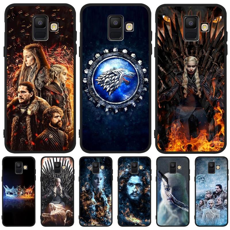 Game of Throne Dragon Luxury For Samsung Galaxy A9 A8 A7 A6 A5 A3 J3 J4 J5 J6 J8 Plus 2017 2018 phone Case Cover Coque Etui capa