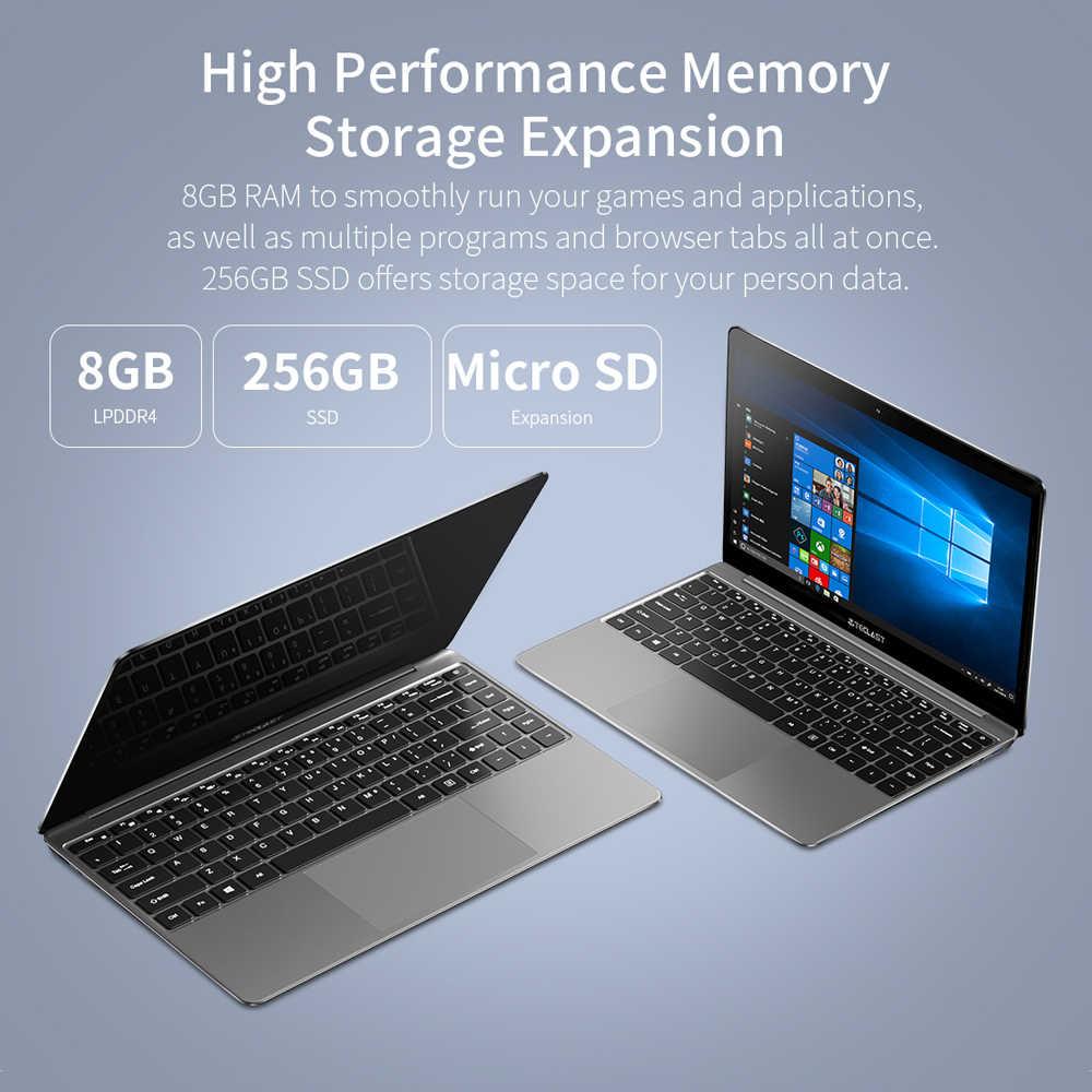 Teclast F7 زائد 14 بوصة 1920x1080 إنتل الجوزاء بحيرة N4100 Windows10 8GB RAM 256GB SSD محمول مع الخلفية لوحة المفاتيح دفتر