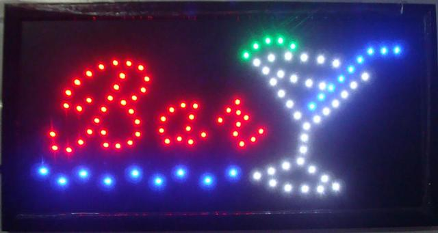 LED BAR shop  SIGN On/Off Switch Light Neon