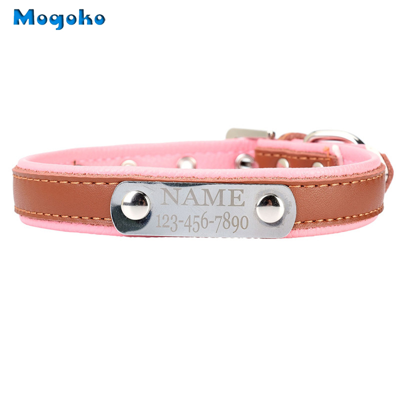 Dog Collars With Name And Phone