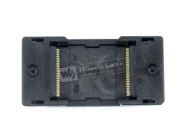 module TSOP56 TSOP OTS-56-0.5-003 Enplas IC Test Socket Adapter 18.4mm Width 0.5mm Pitch cy7c68300c 56lfxc cy7c68300c 56