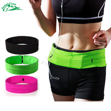 Jeebel Waterproof Running Waist Bags Men/Women Sport Multi-function Waist Packs Fitness Unisex Gym Running Bags for Mobile Phone