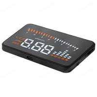 Multi color HD 3 Inch screen X5 Smart Gps Digital voltage speedometer warning car HUD display HUD display