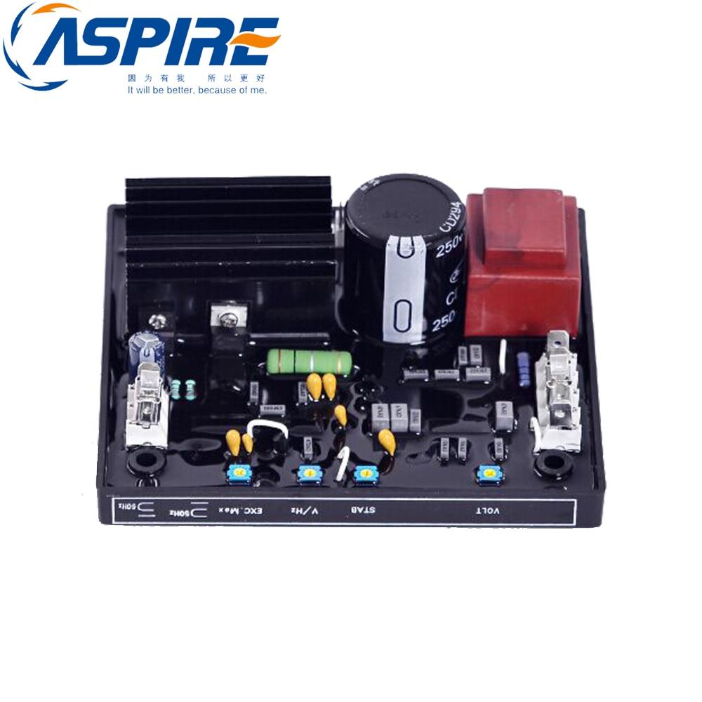 AVR AC Automatic Voltage Regulator R438 for generator free shipping 8 5kw 15kw avr gasoline generator automatic voltage regulator suit for other brand