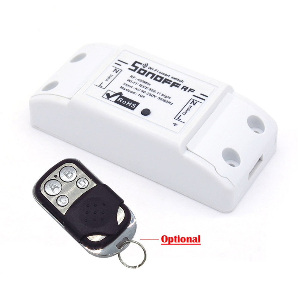 Interruptor de Monitorização da Temperatura Residencial Inteligente Kit Sonoff Th16