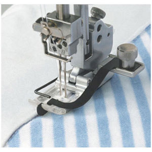 Image 1 - CENTER GUIDE FOOT #795819108 FOR JANOME 1000CPX COVERPRO COVERSTITCH MACHINE