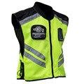 Caliente venta JK22 ropa reflectante de seguridad bici de la motocicleta de carreras de alta Visible reflectante de advertencia chaleco