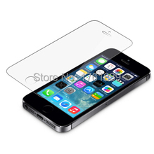 smartphone accessories 0.3mm 9H toughened tempered glass screen protective film for mobile phone for iphone 5s for iphone 5