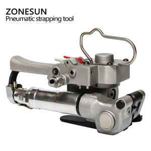 Image 2 - ZONESUN AQD 25 นิวเมติกสายรัดพลาสติกเครื่องมือสำหรับ PP ต่อเทป