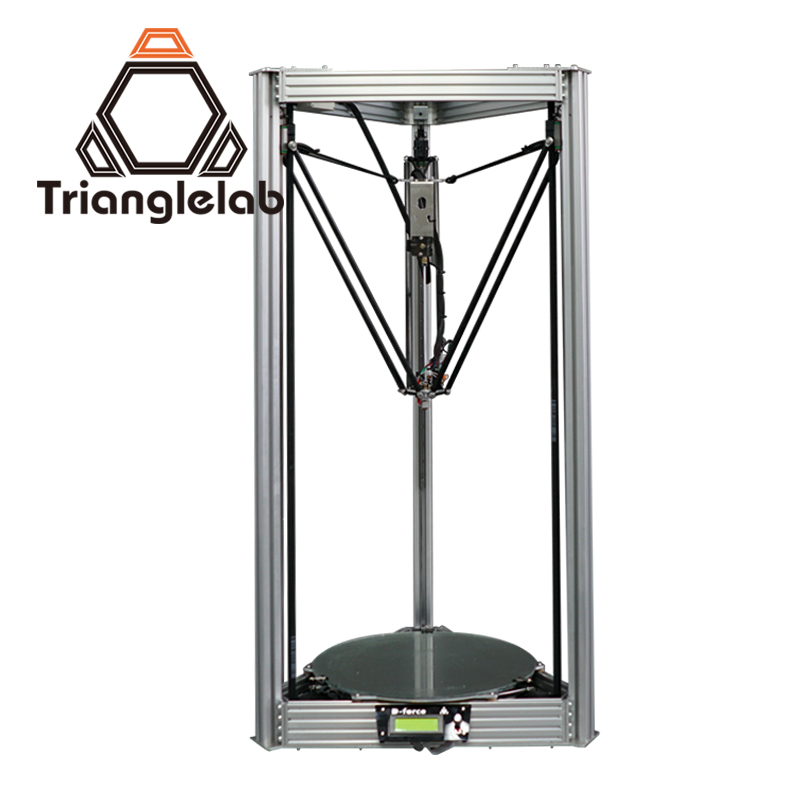 Trianglelab Dforce  400 big measurement delta DIY  kit  3d printer rostock for kossel original anycubic 3d pinter kit kossel pulley heat power big size 3d printing metal printer fast shipping from moscow