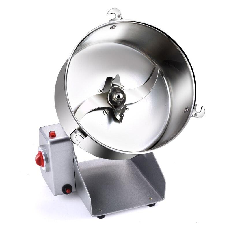 Электрический нержавеющая сталь сухой измельчители для 2000 г Вт 3600 Вт дома мини измельчитель злаков бобы измельчения измельчители блендеры