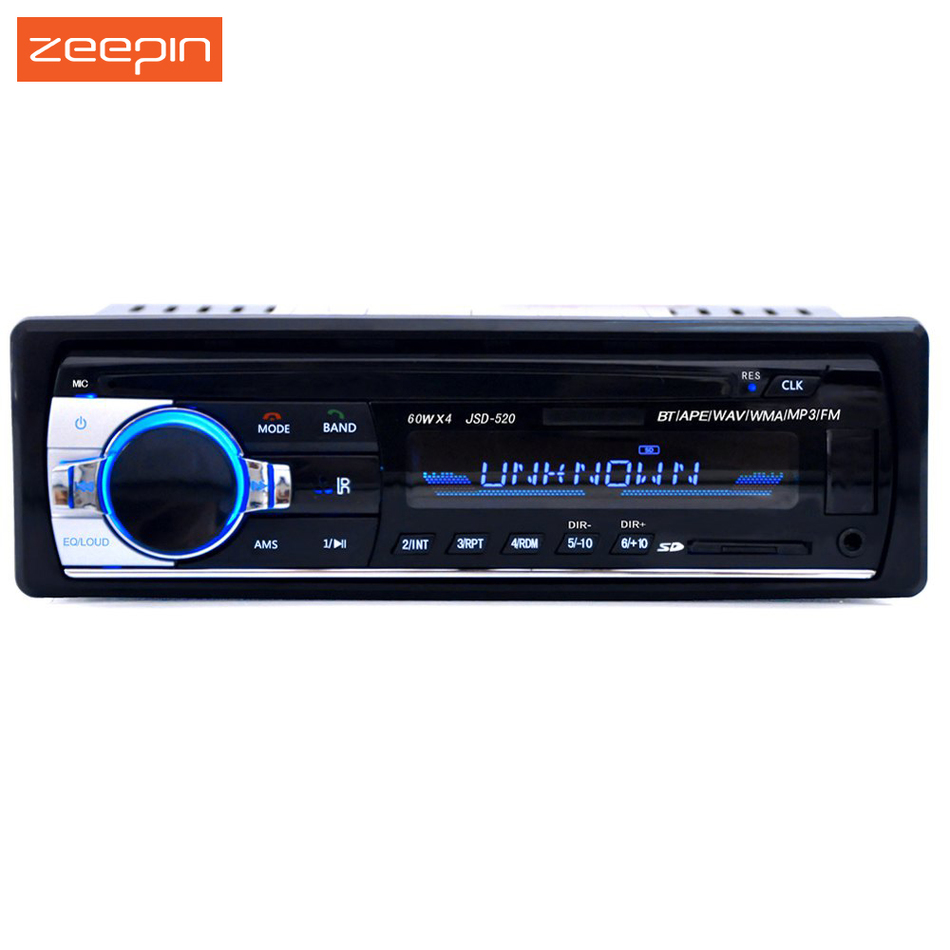 Prix pour Enregistré De Voiture Radio 12 V Bluetooth V2.0 Voiture Audio Stéréo Au tableau de bord 1 Din FM Entrée Aux Récepteur SD USB MP3 MMC WMA Voiture lecteur