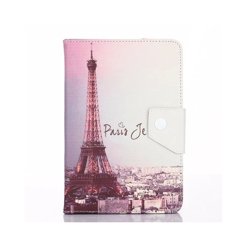 Printed Cover For Huawei Mediapad T1 8.0 8 Inch Tablet Printed PU Leather Case