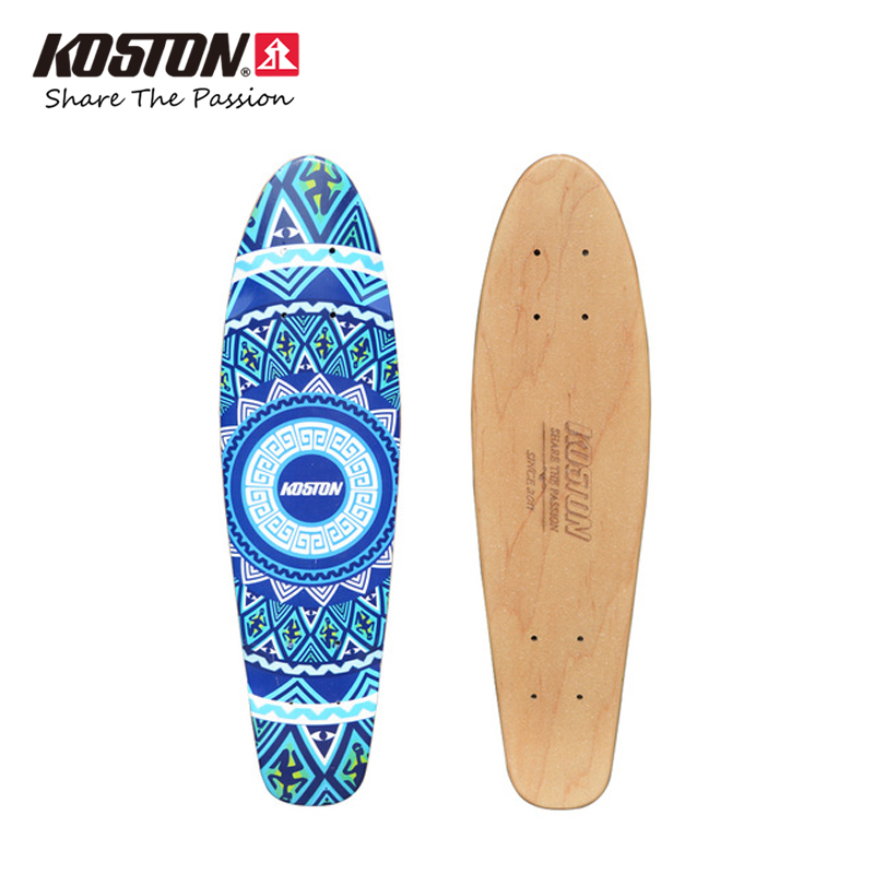 Koston Professional Skateboard Deck Old School Style Cruising Mini Size 7ply Canadian Maple Hot Air Pressed Skateboard Decks