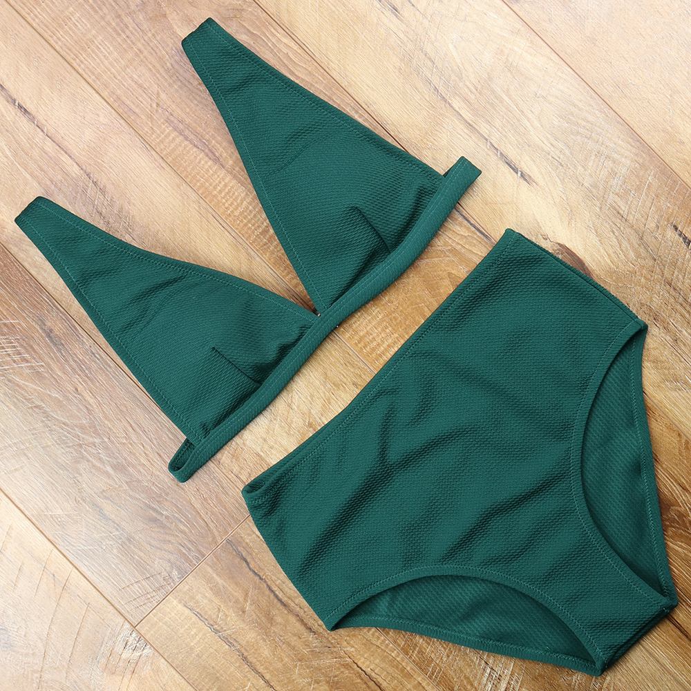 Sexy A Vita Alta Costume Da Bagno Femminile Backless Tuta Costumi Da Bagno Delle Donne del Bikini Costume Da Bagno Costumi Da Bagno Maillot De Bain Femme 2018