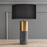 Современные розовое золото настольная лампа прикроватная Nordic простой E27 патрон деревянное основание гостиная спальня кабинет деко стол на