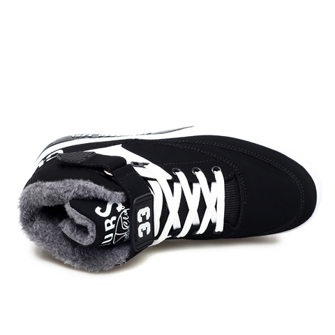 HEINRICH New Winter Sneakers For Men Warm Shoes High-Top Couple Shoes Snow Boots Men Comfortable Shoes Men Casual Zapatos Hombre Islamabad