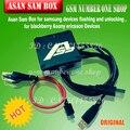 La más nueva versión asb caja/asansam caja con 2 unids cables para samsung intermitente, para dispositivos blackberry y sony ericsson envío gratis