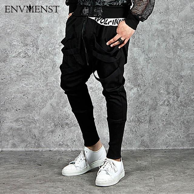 08a444fa1c0 2017 New Dry Men s Denim Pants pocket Full Length Men Hip Hop joggers Pants  Plus Size Trousers men belt Men streetwear EUR Size