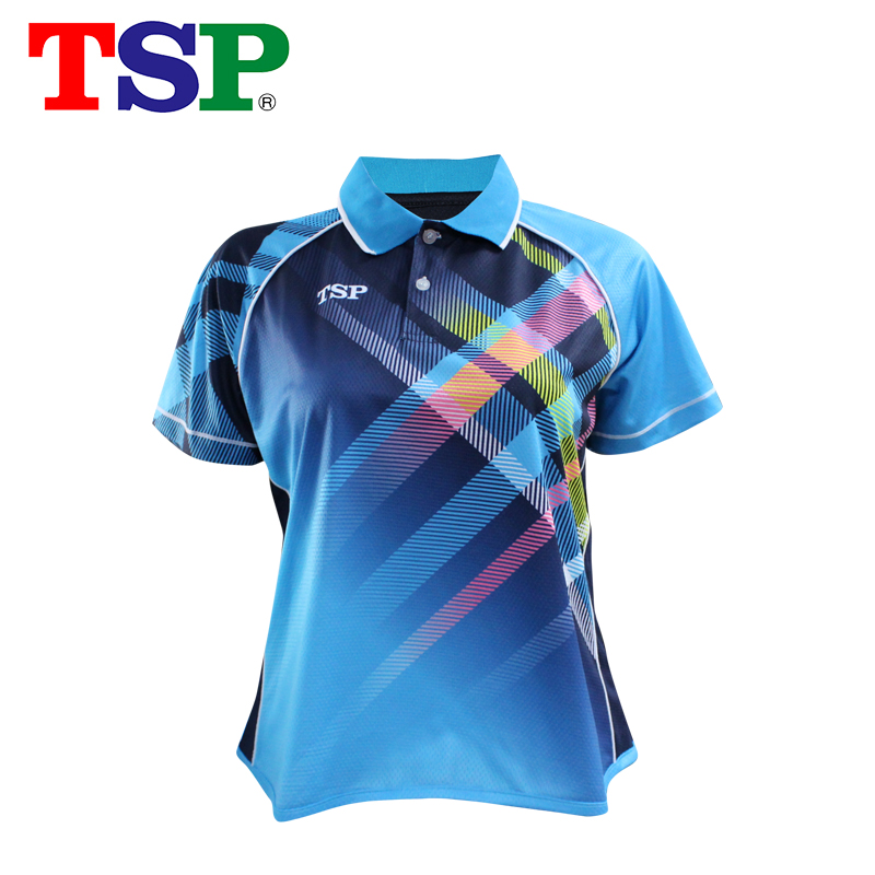 Tsp High Quality Table Tennis Jerseys For Women Sport T shirts Ping Pong Shirts Cloth Short