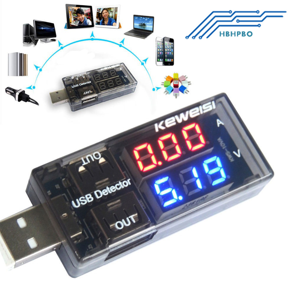 led usb charger capacity current voltage detector tester meter battery voltmeter ammeter test. Black Bedroom Furniture Sets. Home Design Ideas