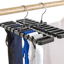 10 Holes Foldable Belt Hanger Tie Rack Sturdy ABS Scarf Organizer Closet Wardrobe Space Saver with Metal Hook Bra Belts Hanger abs metal telescopic car hanger
