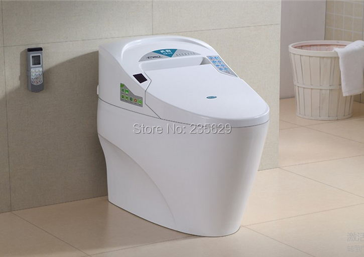 Intelligent Toilet Smart  Toilet Commode North America S-trap 110V  Factory Price Automatic Clean Flushing Siphonic