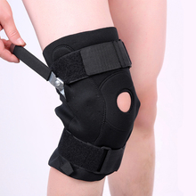 Buy Neoprene elastic rehabilitation  angle dynamic patella knee support protector brace wraps hinges free shipping #ST8819