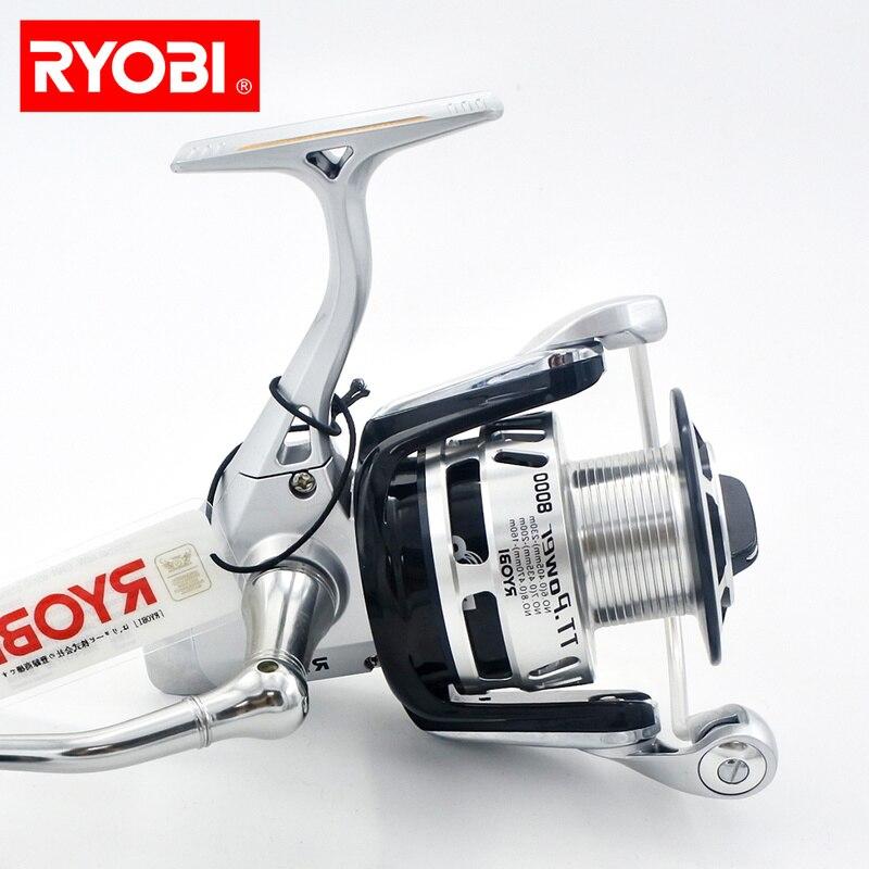 RYOBI TT puissance 4000 6000 8000 Aluminium bobine puissance poignée bouton roues tournantes eau salée