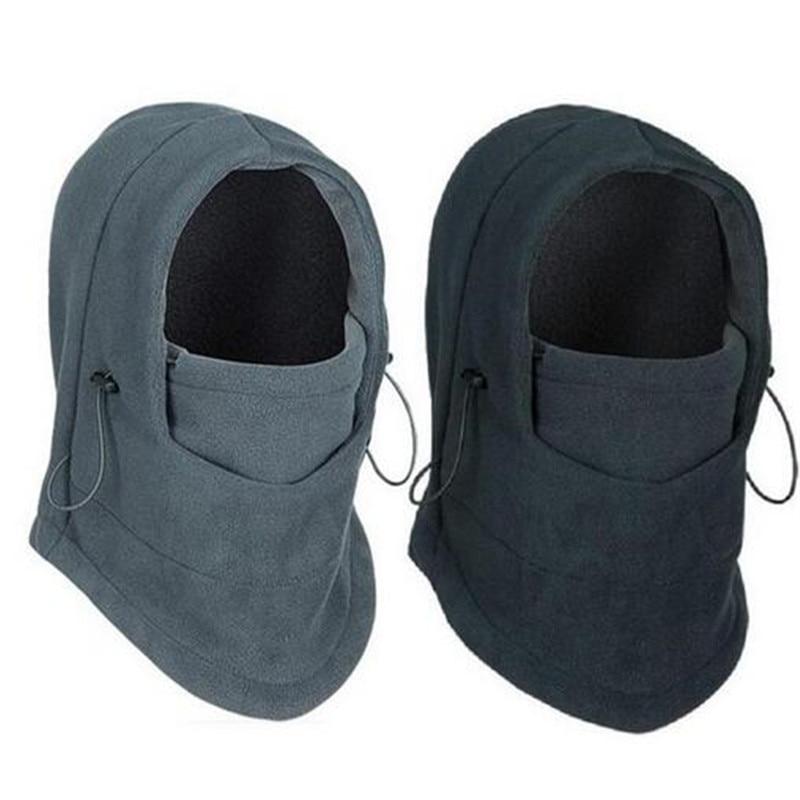 winter warm Fleece font b beanies b font hats for men skull bandana neck warmer balaclava