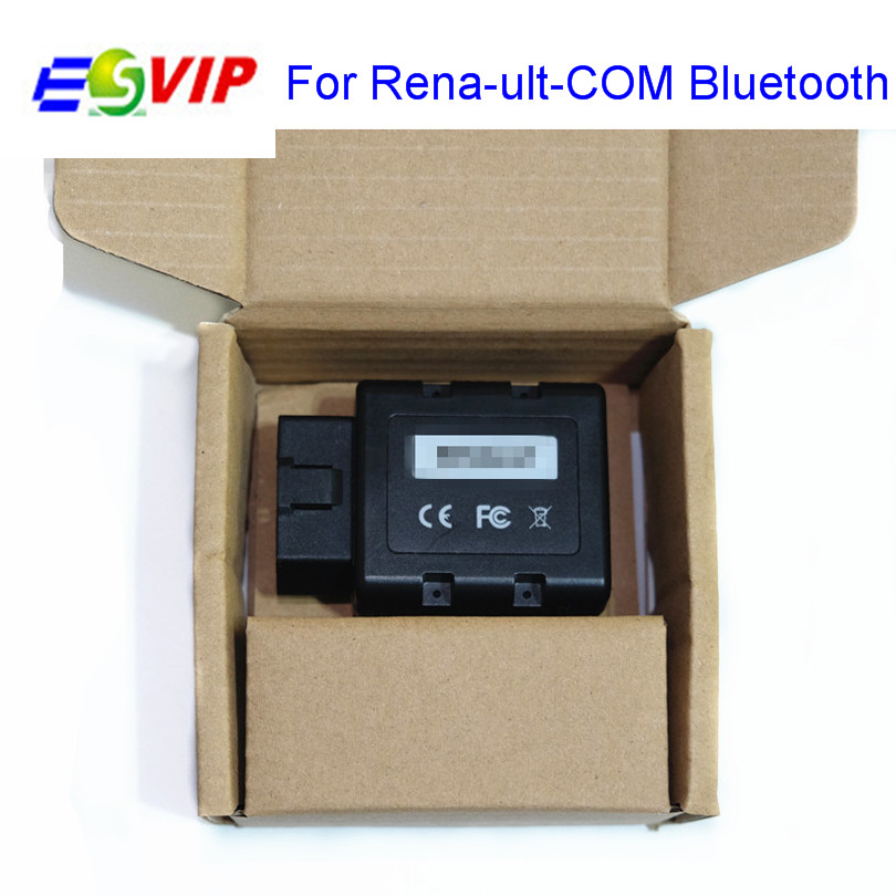 10pcs /DHL free Ren-ult-COM Replacement For Ren//ault Can Clip Professional Wireless Diagnostic Programming Tool for Ren-ult